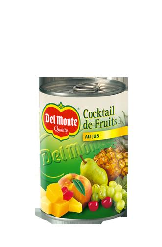 Del monte france conserves de fruits cocktail de for Cocktail jus de fruit